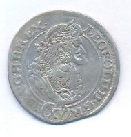 Uhry, 15 krejcar, 1691 KB Leopold I.