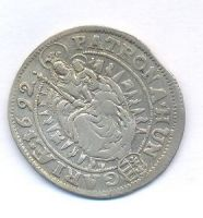 Uhry, 15 krejcar, 1692 KB Leopold I.
