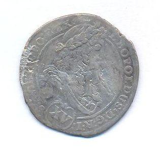 Uhry, 15 krejcar, 1696 KB Leopold I.
