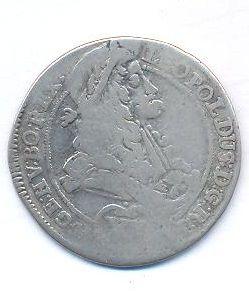 Uhry, 15 krejcar, 1696 M Košice Leopold I.