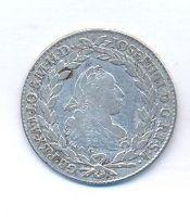 Uhry, 20 krejcar, 1775 G Josef II.