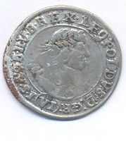 Uhry, 6 krejcar, 1669 KB, Leopold I.