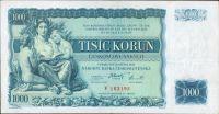 1000Kč/1934/, stav 2-, série F