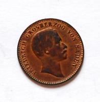 Baden 1/2 Krejcar 1856