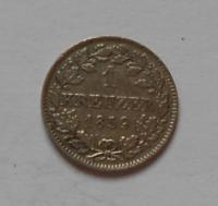 Bavorsko 1 krejcar 1859