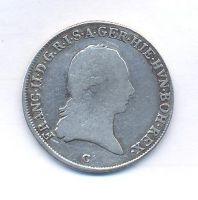 Čechy, 1/4 tolar křížový, 1797 C, František II.