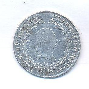 Čechy, 20 krejcar, 1802 C, František II.