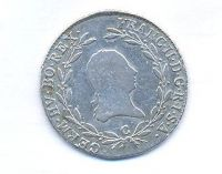 Čechy, 20 krejcar, 1803 C František II.
