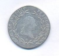 Čechy, 20 krejcar, 1805 C, František II.