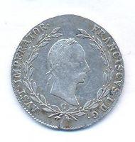 Čechy, 20 krejcar, 1830 C, František II.
