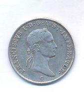 Čechy, 20 krejcar, 1832 C, František II.
