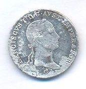 Čechy, 3 krejcar, 1833 C, František II.