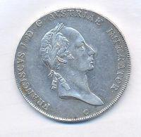 Čechy, tolar konvenční, 1825 C František II.