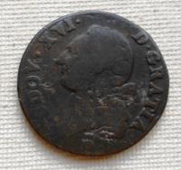 Francie 1 Sol 1785 Ludvík Xvl.