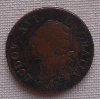 Francie 1 Sol 1791A Ludvík Xvl.