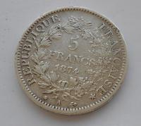 Francie 5 Frank 1874
