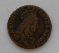 Francie Liard 1655A Ludvík XlV.