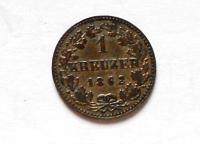 Frankfurt 1 Krejcar 1862