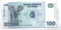 Kongo, 100 frank, 2000
