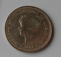 Lucembursko 5 Frank 1929