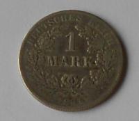 Německo 1 Marka 1881 F