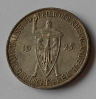 Německo – kopie 5 Marek 1925 Rheilande