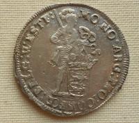 Nizozemí provincie West Friesland Ag Ducat 1699