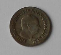 Prusko 1 stř. Groš 1858A Frid. lV.