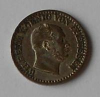 Prusko 1 stř. Groš 1869B Vilém l.