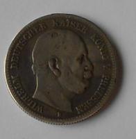 Prusko 2 Marka 1876B Vilém l. m.o.