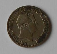 Prusko 2 1/2 stř. Groš 1843A Frid. Wilh lV.