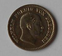 Prusko 2 1/2 stř. Groš 1863 Vilém l.