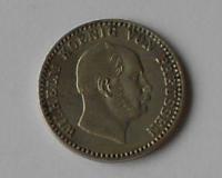 Prusko 2 1/2 stř. Groš 1865 Vilém l.