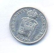 Rakousko, 1/2 lira, 1822 V, František II.