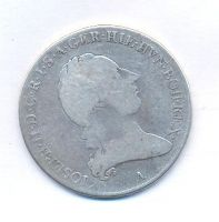 Rakousko, 1/2 tolar křížový, 1789 A, František II.