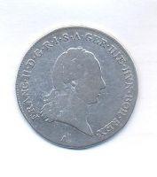 Rakousko, 1/4 tolar křížový, 1792 A, František II.
