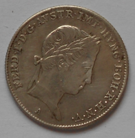 Rakousko 10 Krejcar 1837A Ferdinand V.