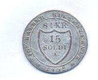 Rakousko, 15 soldi, 1802, František II.