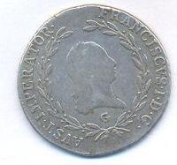 Rakousko, 20 krejcar, 1808 G, František II.