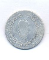 Rakousko, 20 krejcar, 1826 E, František II.