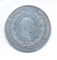 Rakousko, 20 krejcar, 1827 A, František II.