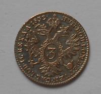 Rakousko 3 Krejcar 1832A František II.