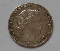 Rakousko 3 Krejcar 1844A Ferdinand V.