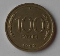 Rusko 100 Rubl 1993