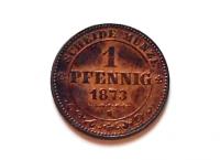Sasko 1 Pf 1873