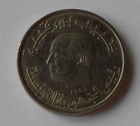 Tunis 1/2 Dinár 1983