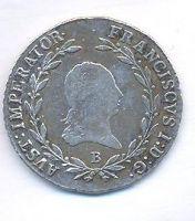 Uhry, 20 krejcar, 1815 B František II.