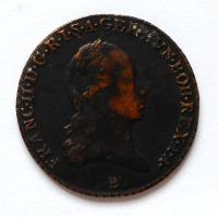 Uhry 3 Krejcar 1800B František II.
