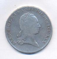 Uhry, tolar křížový, 1794 B, František II.
