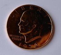 USA 1 Dolar zlacený 1972